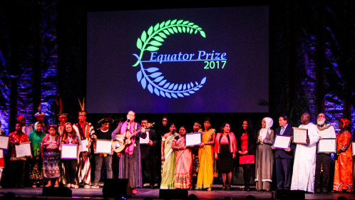 Six SGP grantees receive the Equator Prize 2017