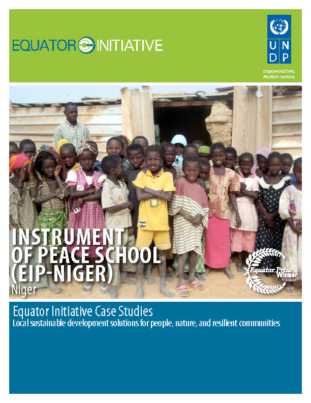 INSTRUMENT OF PEACE SCHOOL (EIP-NIGER)