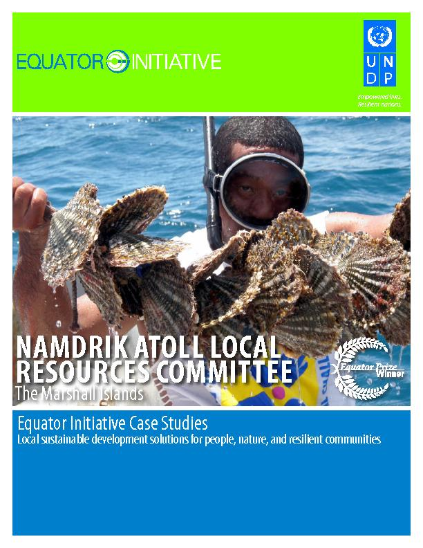 NAMDRIK ATOLL LOCAL RESOURCES COMMITTEE