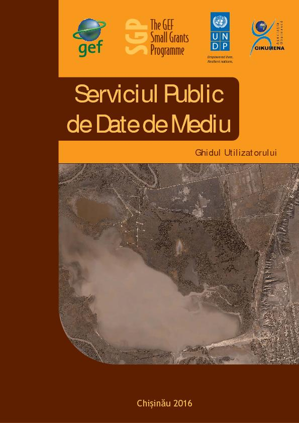 Moldova - Public Service of Environmental Data