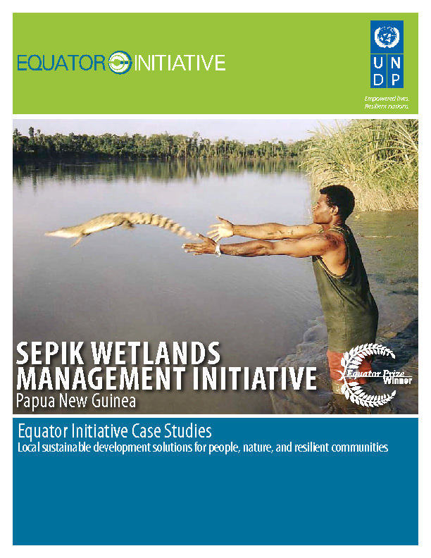 SEPIK WETLANDS MANAGEMENT INITIATIVE