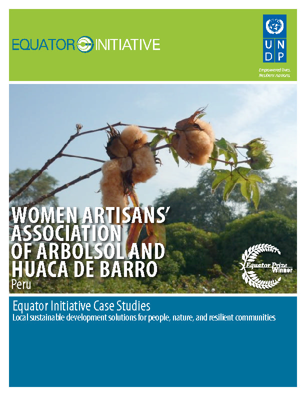 WOMEN ARTISANS ASSOCIATION OF ARBOLSOL AND HUACA DE BARRO