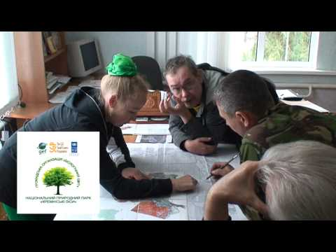 "Ukraine: ""Launch of protected area to rehabilitate forest ecosystem in Kremin district, Lugansk region"" (Ukrainian)"