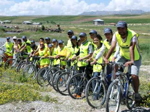 Turkey - Riding a Bicycle, Conserving the Nature