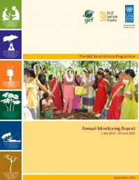 Small Grants Programme Annual Monitoring Report 2012 - 2013
